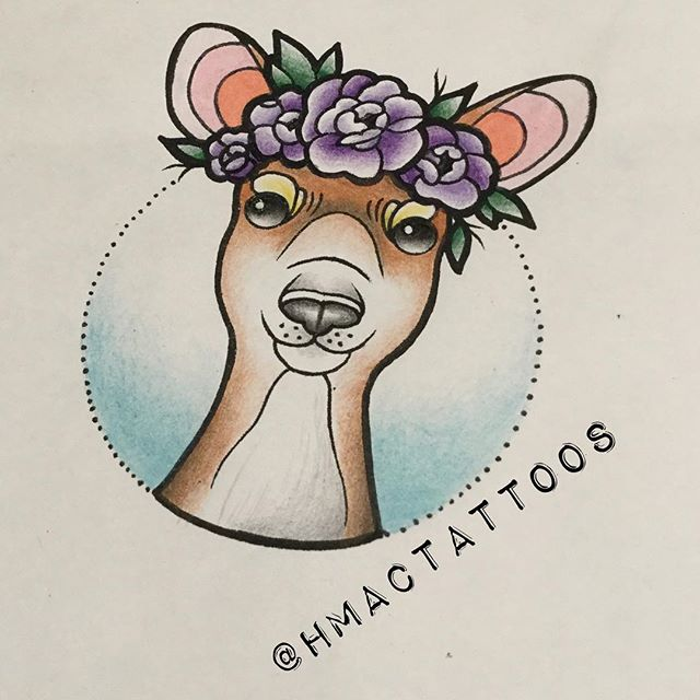 Little doe by _hmactattoos available