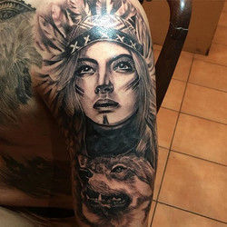 Yesterday's piece complete thanks ray by _juniorsilivaaitattoos _skindeeptattoogallery _usocollectiv
