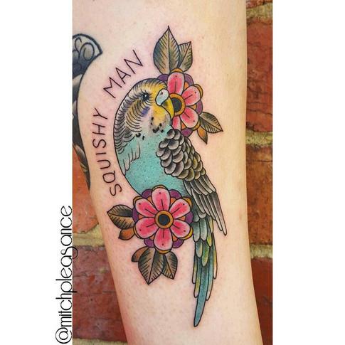 Mitch Pleasance Tattoo