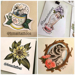 _hmactattoos has some designs up for grabs, if your interested,shoot us a message here or Facebook