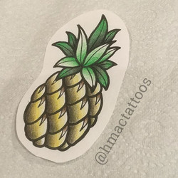 Pineapple available by _hmactattoos