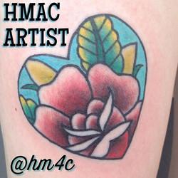 Rose by apprentice Hannah _hm4c _#tattoo #tattooartist #frankston #frankstontattooartist #frankstont