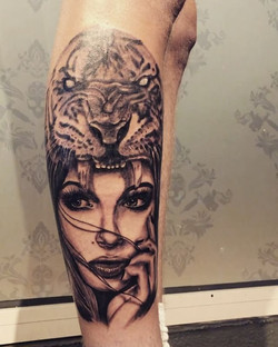 This piece was done on jordan _jord.5 well done mate sat really well
