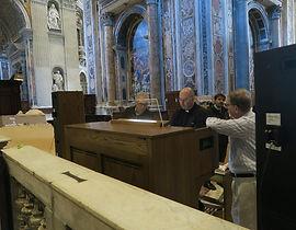 Orgue numériue Allen au Vatican