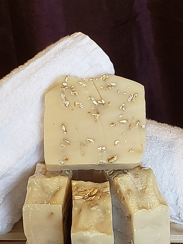 LegenDairy Goat Milk Soap- Exfoliating Oatmeal
