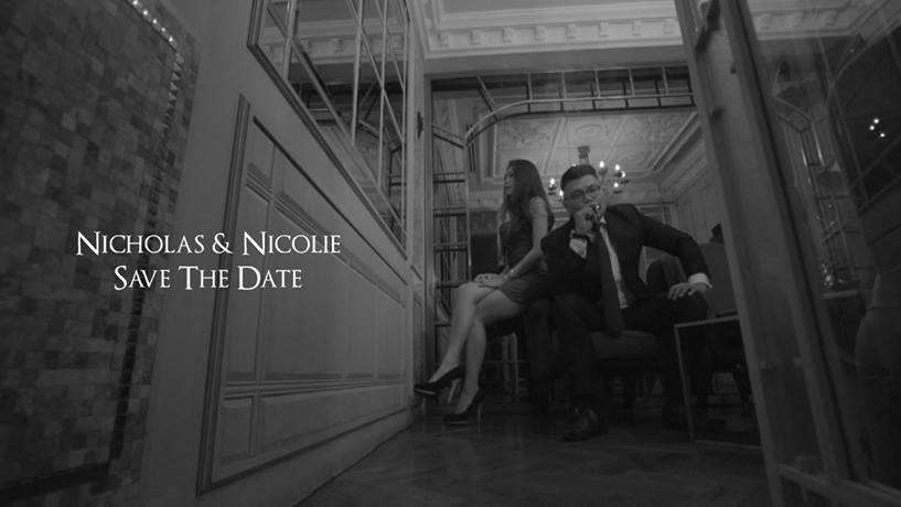 Nicholas  & Nicolie Wong Save The Date