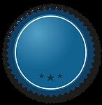 Ruban bleu avec des étoiles