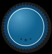 Modrá stuha s hvězdami