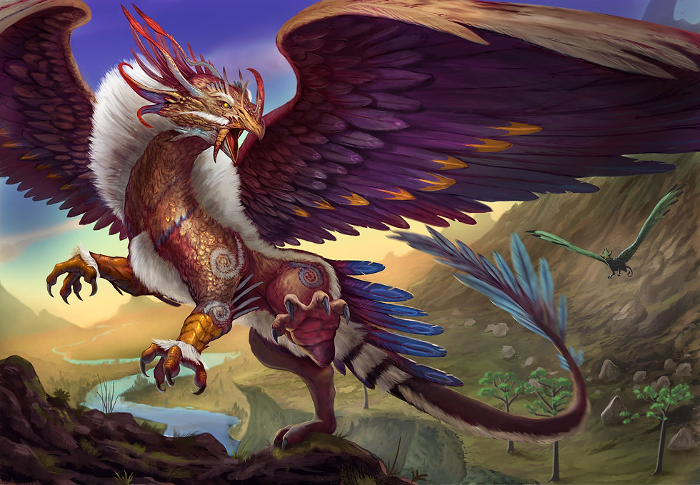 fantasy_art_artwork_griffin_creature_bir