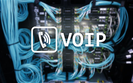 VOIP, Voice over Internet Protocol, technology that allows for speech communication via the Internet