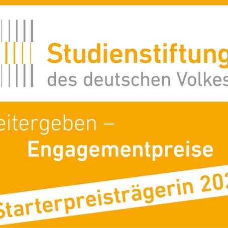 Starterpreis 2020 der Studienstiftung