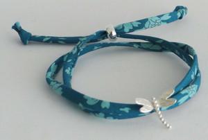 Silver Dragonfly Charm Bracelet £25