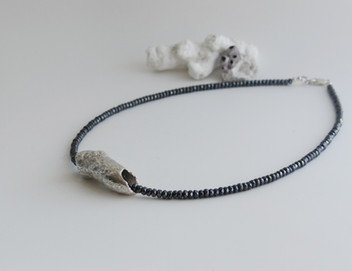 Silver Coral Necklace £80