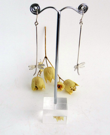 Dragonfly Long Earrings