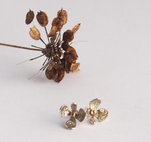 Flower studs £40