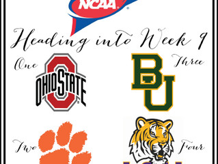 College Football-It's Week 9!