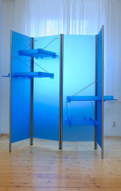 modrá skříň PRW
