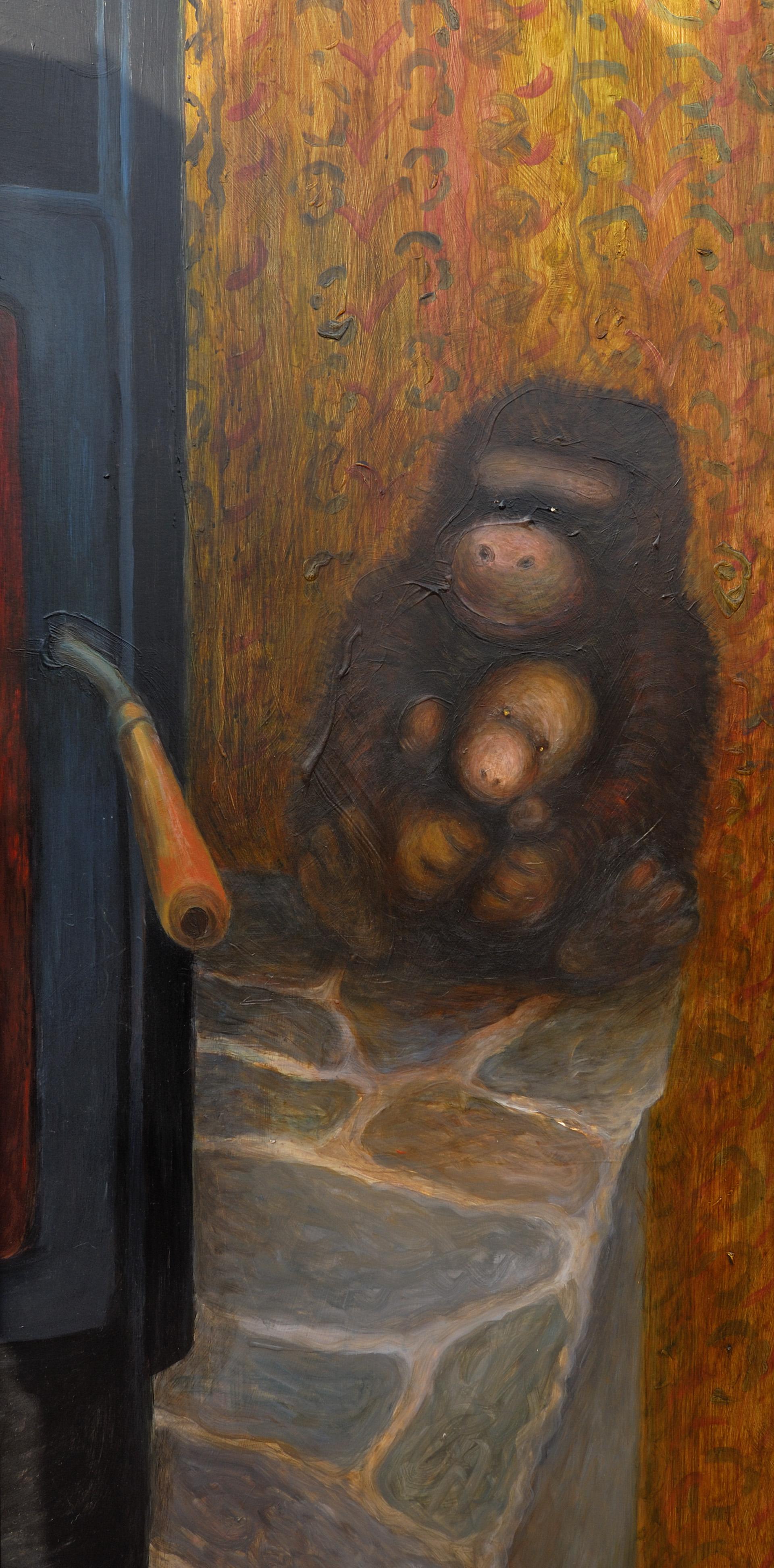 oheň_detil opice