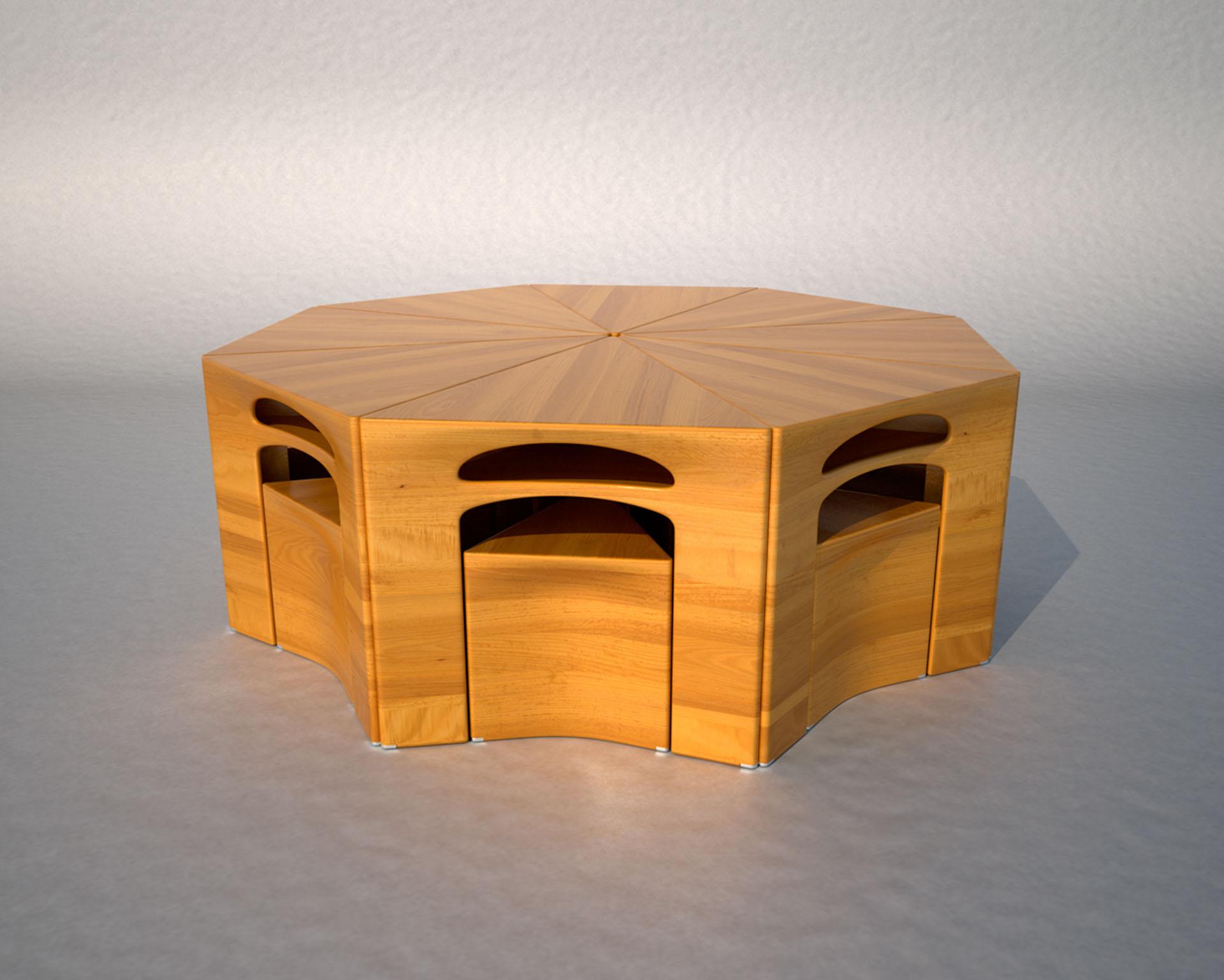 stůl+sedačky_kruhový