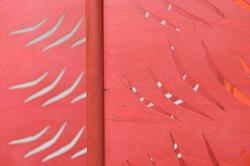 Červená tráva_detail