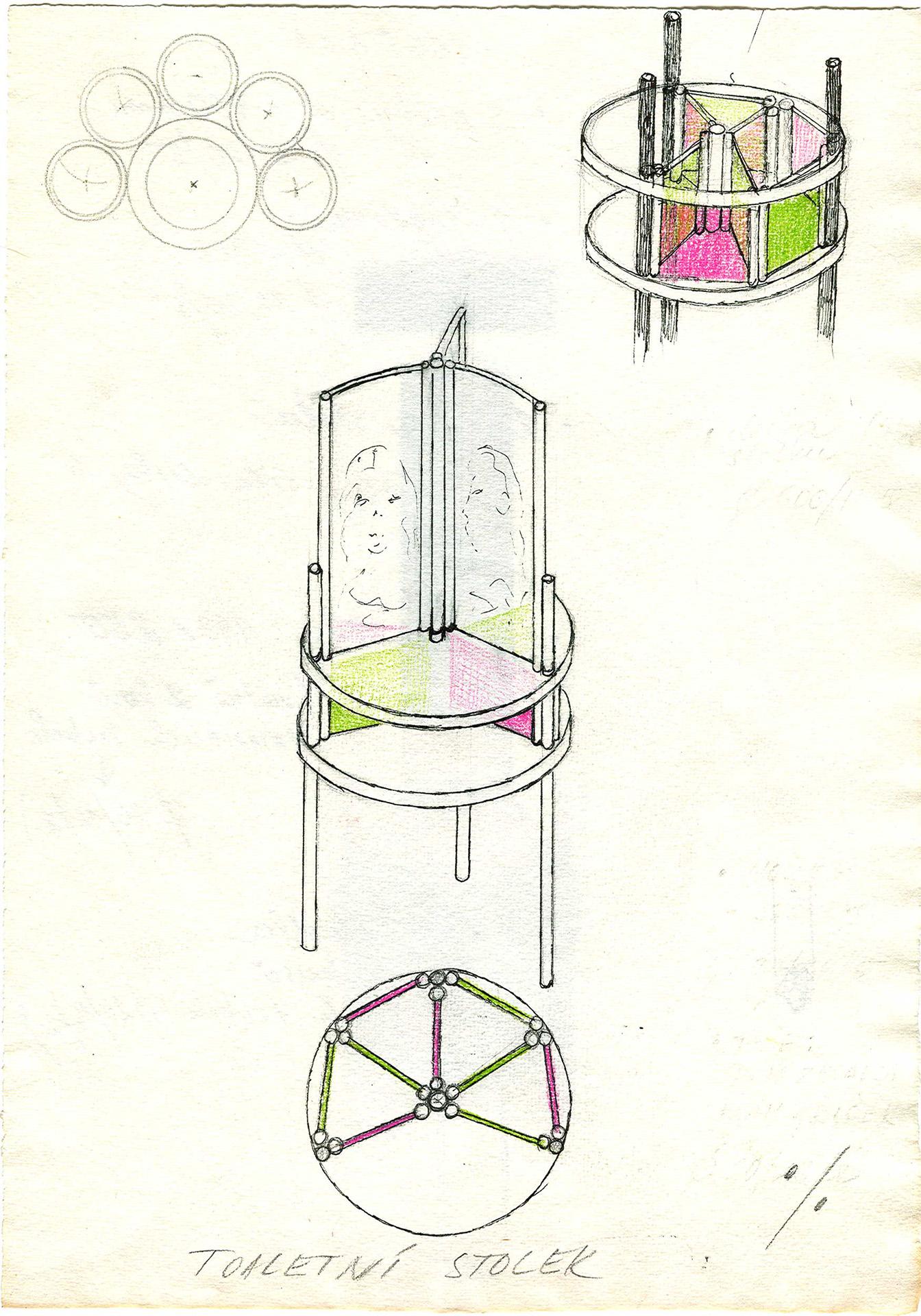 nápady a skici