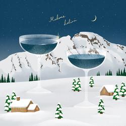 Drink a winter night