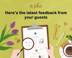 에어비앤비 Plus Quality Performance 일러스트 / airbnb