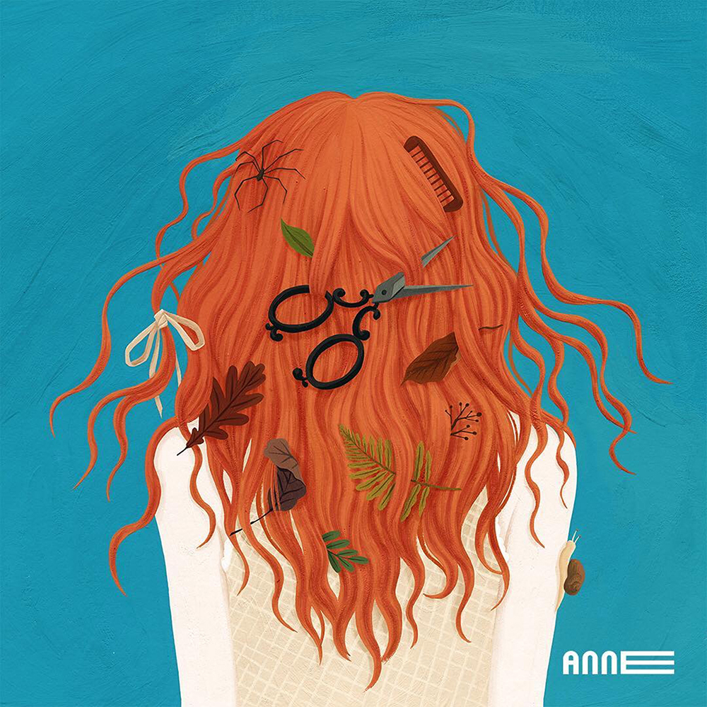 '내 이름은 빨강머리 앤' 전시 일러스트 / 미디어앤아트