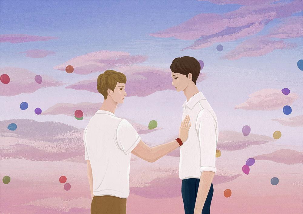 연극 '프라이드' 굿즈 일러스트 / 연극열전