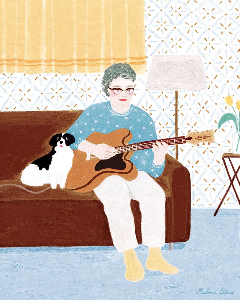 Granny's Guitar