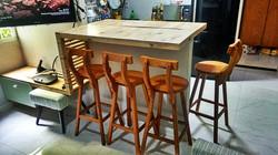 rack para tv com mesa balcão