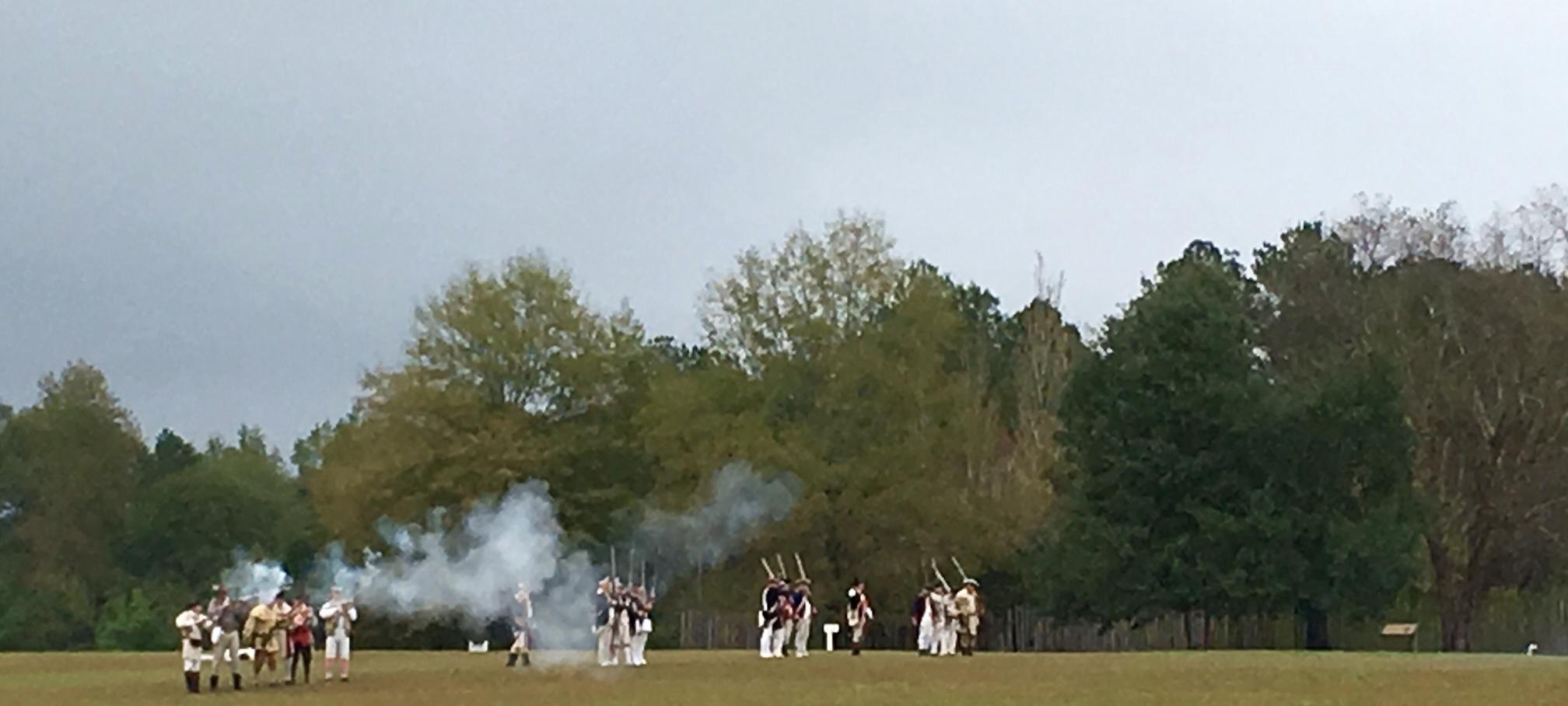 Battle Shot Reenactment
