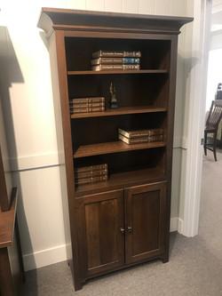Canterbury Bookcase w_ Bottom Drawer