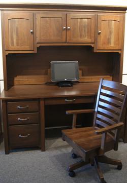 Canterbury Double Pedestal Desk