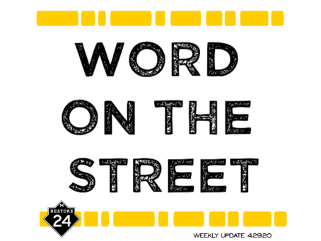 Word On The Street - Project Update 4.29.20