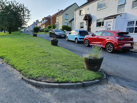 Village Green Repaired