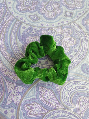 Hand Made Scrunchie - Green