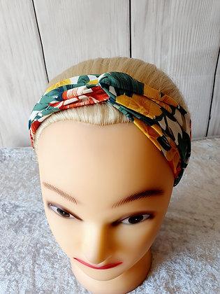 Tropical Elasticated Head Band