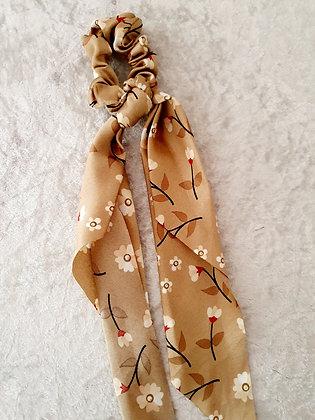 Long Tail Scrunchie Autumn Floral