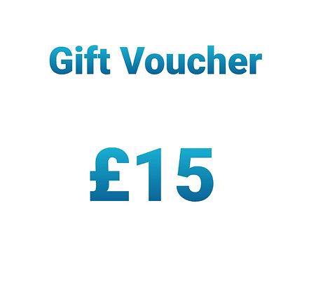 Gift Voucher - £15