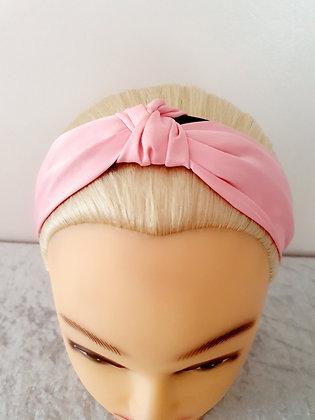 Silk Pink Head Band