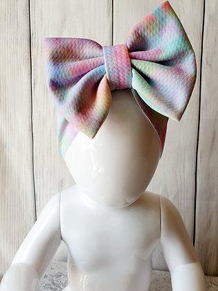 Pastel Tie Dye Head Wrap