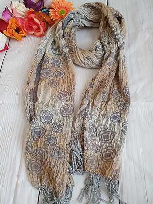 Bubble Roses Soft Scarf