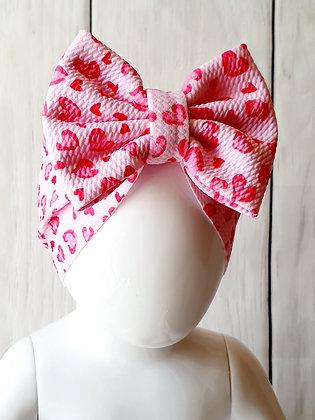 Pink Animal Print Head Wrap