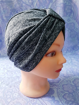 Granite Grey Chemo Cap Turban