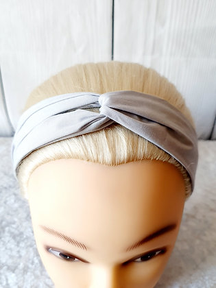 Silver Elasticated Head Band