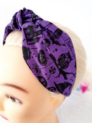 Nightmare on Purple Head Band