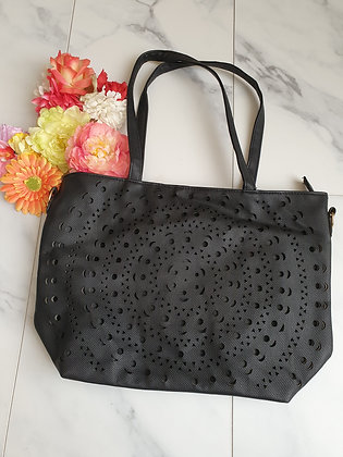 Large Shopper Black