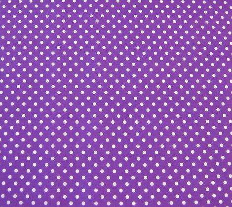 Purple Polka Face Mask
