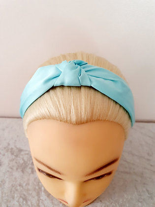 Silk Blue Head Band